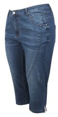 Cassiopeia - Aline piraten jeans mit super stretch