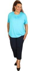 Cassiopeia - T-shirt med rund hals og korte ermer