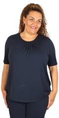 Cassiopeia - T-shirt med rund hals og korte ærmer
