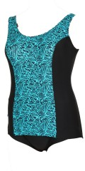 Mirou Swimwear - Smart badedragt med print
