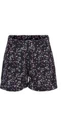 Zizzi - Shorts mit elastik in ganze die taille