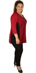 Studio - Monica tunica/blouse with 3/4 sleeves