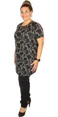 Cassiopeia - Oline Tunika/Kleid mit smart Streifen über die Schulter
