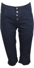 Cassiopeia - Nuka pirat bukser med 5 lommer og bæltestropper samt smart slid og rynk