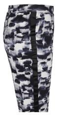 Zhenzi - Weiche Jersey Hosen mit Elastik in ganze die Taille und 2 schräg Taschen