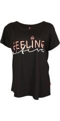 Zhenzi - T-shirt med kort wing ärm