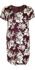 Cassiopeia - Savanna dress in stylish printed strechy material