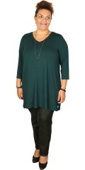 Zhenzi - Tunica in a-shaped, strechy material with 3/4 sleeves