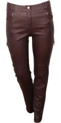 Zhenzi - Beschichtet Stretch Jeans (Modell stomp legging fit) mit Regulierbar Elastik in die Taille