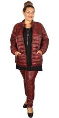 CISO - Vattert jakke med glidelås lommer