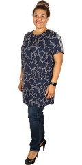 Cassiopeia - Oline tunika/kjole med smart stripe over skulderen