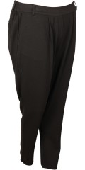 Zhenzi - Pants in casual style, sewn in strechy material with partial rubber band in the waist