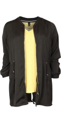 Zhenzi - Cardigan jacket in fine quality which are closed with zipper and can laced in the waist