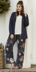 Zhenzi - Great casual pants with partial rubber band in the waist