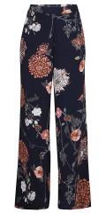 Zhenzi - Läckra casual byxor med delvis gummiband i midjan