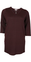 Zhenzi - Tunica with 3/4 sleeves and smart v cutting