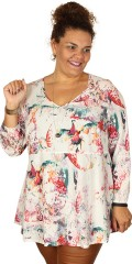 Que - Nice tunica in hard fabric with long sleeves