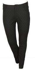 Zoey - Lange bukser slim model med super strech og bling bling på forstykket