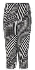 Q´neel - Tencel halblange Hosen in fest Stoff mit teilweise Elastik in die Taille