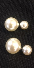 Qnuz - Perle øreklips