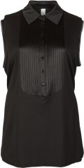 Que - Fine top with pleat and  in a-shaped