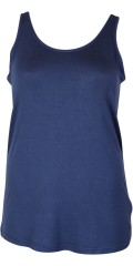 Zhenzi - Basic top without sleeves and with good stretch