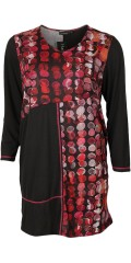 Handberg - Tunica/dress with long sleeves in super nice design