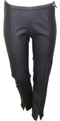 Zhenzi - Coatede twist bukser med strikk i hele taljen og fine stikning foran med litt slisse ved foden