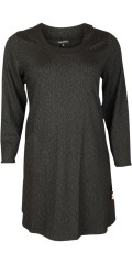 Handberg - Dress/tunica with long sleeves in jacquard