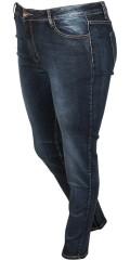 Vanting  - Slim jeans med super strech, b s jeans med wash effekt