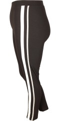 Cassiopeia - Delina 7/8 legging with rubber band in whole the waist and galons in the sides