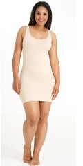Sandgaard - Long slim shape dress with width straps