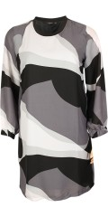 Vanting  - Tunica/dress with long sleeves