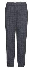 Zhenzi - Bukser loose fit med delvis strikk i taljen