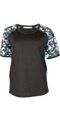 Cassiopeia - Cilla strechy fitness t-shirt cassiopeia sportswear