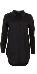 Sandgaard - Basis loose shirt with stretch, as can buttoned quite up in collar