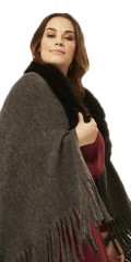 Adia Fashion - Coat / poncho / headscarf