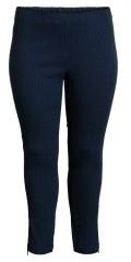 CISO - 7/8 Stretch Hosen mit Elastik in die Taille in hübsch strechy Strukturgewebe Stoff