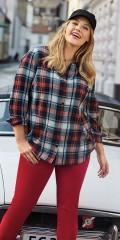 CISO - Lækker klassisk bondeskjorte i 100% bomuld