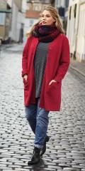 CISO - Coatigan jakke i skøn uldkvalitet med lommer