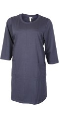 CISO - Dress with 3/4 sleeves, round neck and 2 lovely pockets
