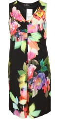 Q´neel - Nice party dress in although flowery fabric