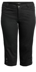 CISO - Capri trousers with stretch and nice stitchings