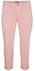 Juna Rose - Smart 7/8 jeans with stretch in fashionable colour