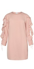 Juna Rose - Tunica/dress with open flounce sleeve