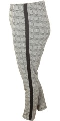 Handberg - Hosen Leggings mit Stretch und Elastik in ganze die Taille