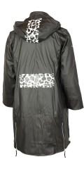 Handberg - Regnfrakke med varm quiltet foer