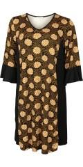 Gozzip - Strechy kjole med lommer og 3/4 ermer