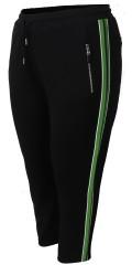 Cassiopeia - Siggi strechy bukser 7/8 lengde med strikk og line i taljen