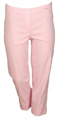 Robell - Bella slim fit 7/8 pants with rolled-up and 2 back pockets